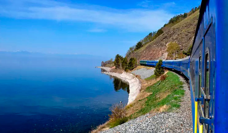Transiberian Golden Eagle Luxury Train